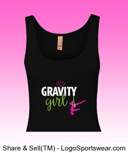 Ladies Inspirational Tri-Blend Jersey Tank Design Zoom